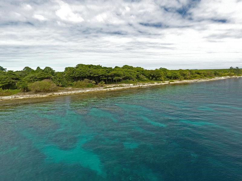 Remax real estate, Honduras, Utila, Little BightBeachfront Homesite B