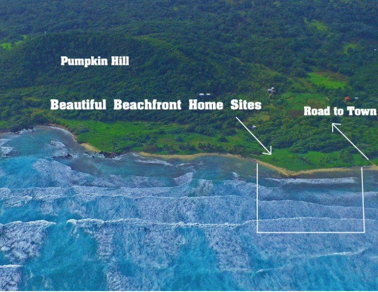 Remax real estate, Honduras, Utila, Pumpkin Hill Close to Ocean2FOR1 Views Great Homesite