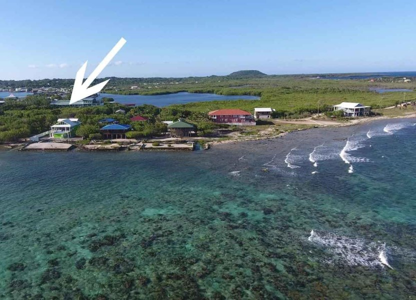 Remax real estate, Honduras, Utila, Great Snorkeling Steps AwayBargain Oceanview Homesite