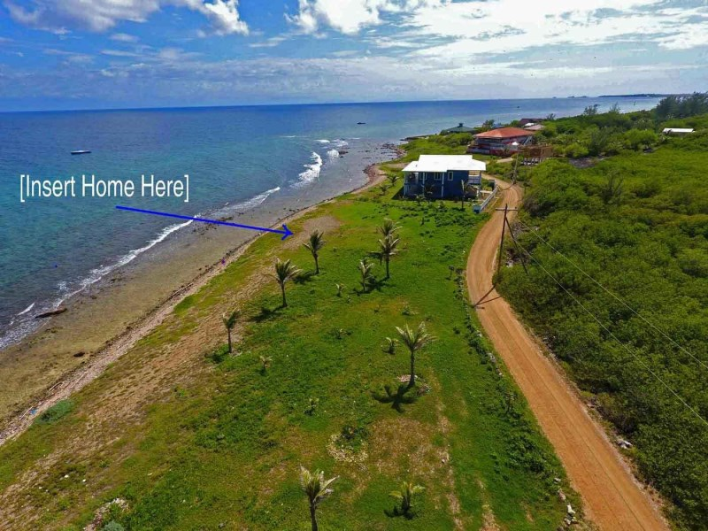 Remax real estate, Honduras, Utila, Dolphin Run near TradewindsBeachfront Bargain