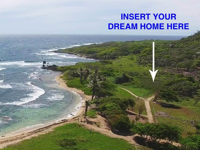 Remax real estate, Honduras, Utila, Playa Linda at Pumpkin HillSteps to the Beach 0.25 Acres