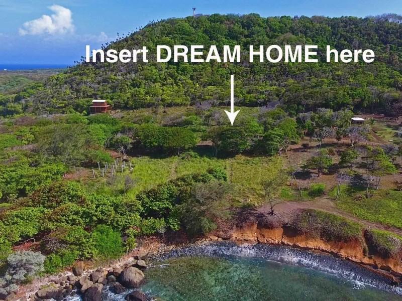 Remax real estate, Honduras, utila, Pumpkin HillStunning views from Lot G7