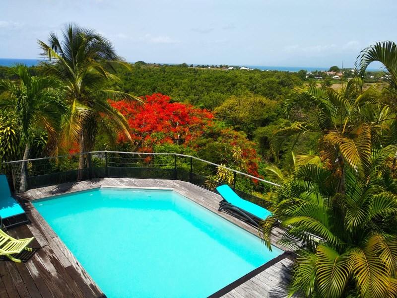 RE/MAX real estate, Guadeloupe, Le Gosier, Magnifique Villa - Vue mer exceptionnelle