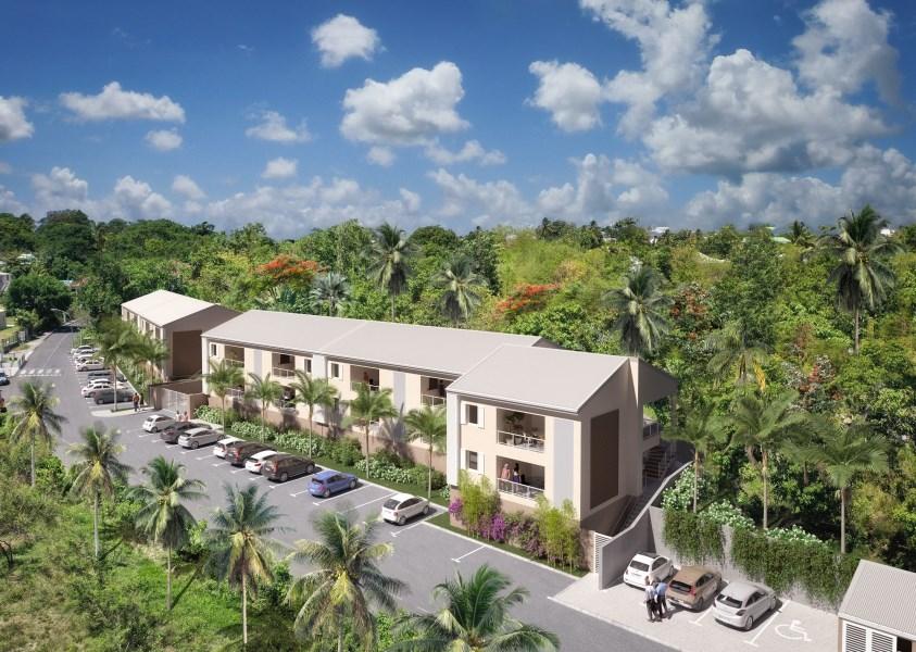 RE/MAX real estate, Guadeloupe, Le Gosier, Résidence Les Villas D'Alexandre - T3 neufs