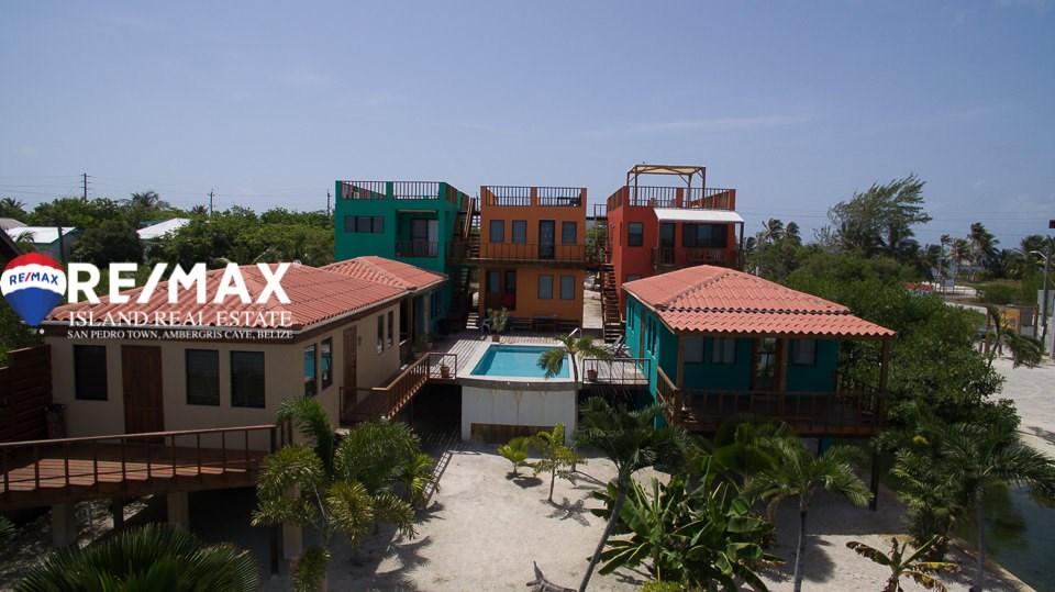 Remax real estate, Belize, San Pedro, Water View Condo at Coco Villas