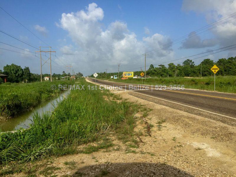 Remax real estate, Belize, Belmopan, #6909 - 88 Acres on the Western Highway
