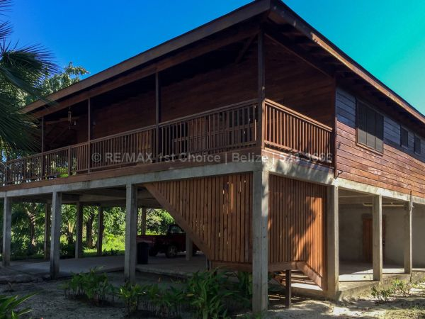 Remax real estate, Belize, Placentia Village, #6916 - 2 Bedroom Hardwood Home