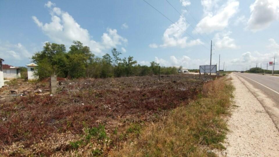 Remax real estate, Belize, Belize City, (#2342) - 2.5 ACRES OF LAND WITH HIGHWAY FRONTAGE AT BELIZE CITY.