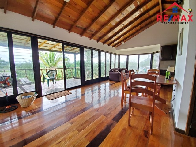 Remax real estate, Belize, Spanish Lookout, # 8024 - TROPICAL STYLE TWO BEDROOM HOME + 6 ACRE + CREEK + POND - near SPANISH LOOKOUT, CAYO DISTRICT, BELIZE