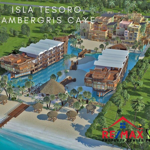 RE/MAX real estate, Belize, Ambergris Caye, #1500 - Isla Tesoro Penthouse, San Pedro, Ambergris Caye