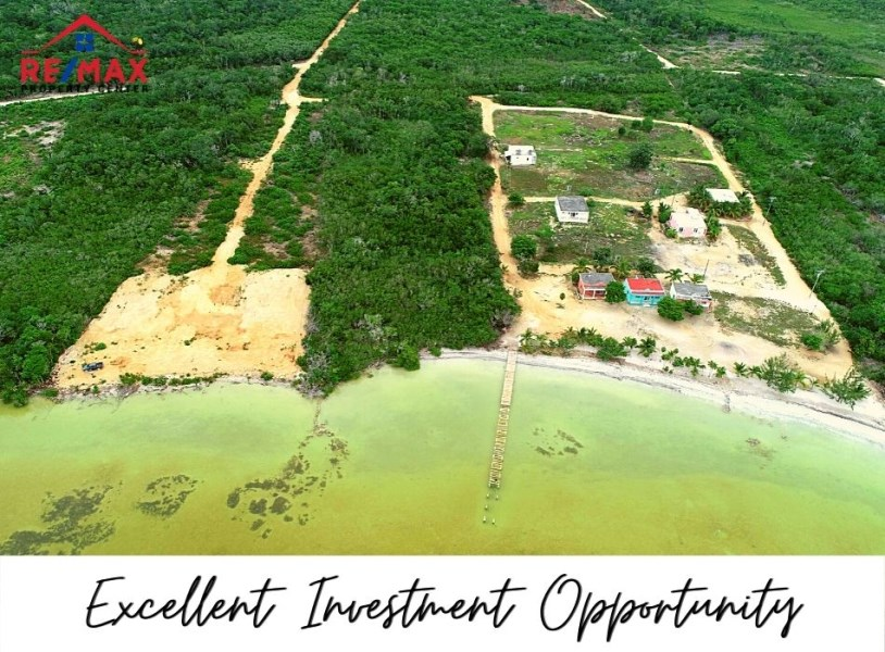 RE/MAX real estate, Belize, Santeneja, #1515 - Own Acreage with Beachfront in Sarteneja, Belize