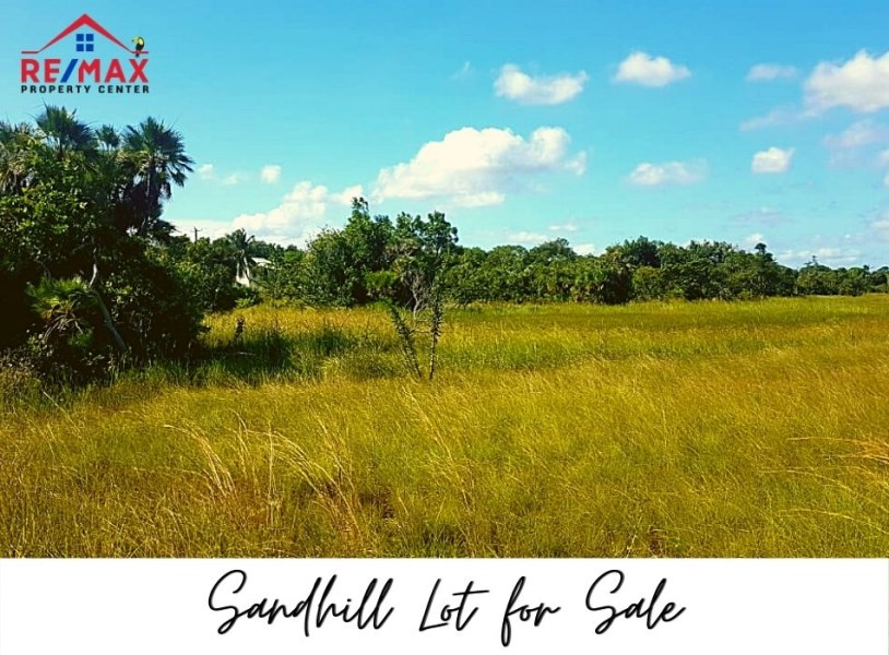 RE/MAX real estate, Belize, Sand Hill, #1507 - Residential Roadside Corner Lot in Sandhill Village