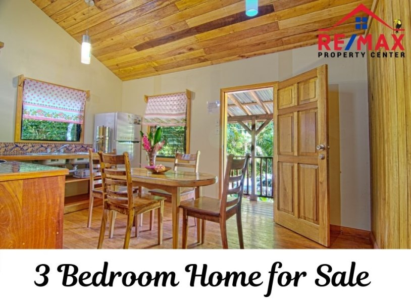 RE/MAX real estate, Belize, Benque Viejo, #7005 - Affordable 3-Bedroom Belize Home for Sale in Rainforest Community
