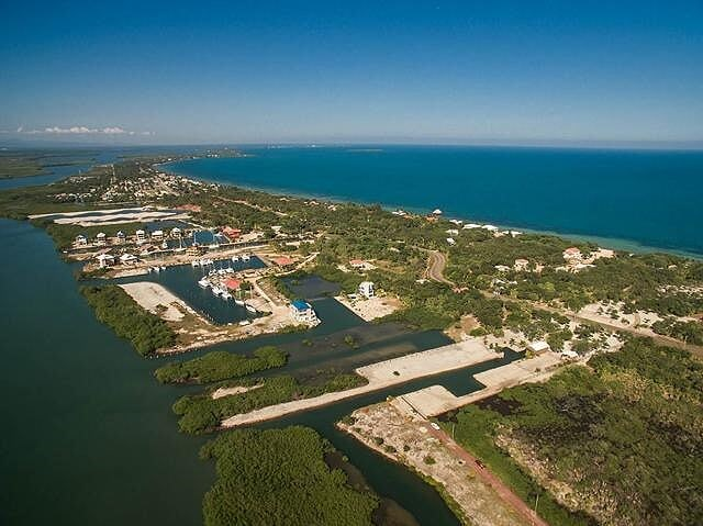 Remax real estate, Belize, Placencia, MARINA PARCEL ON THE LAGOON WITH