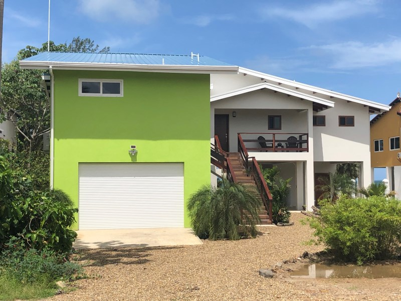 Remax real estate, Belize, Placentia, CARIBBEAN SEAFRONT - BRAND NEW HOME
