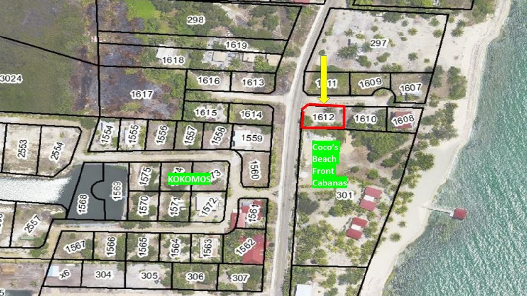 RE/MAX real estate, Belize, Placencia, Road front opportunity