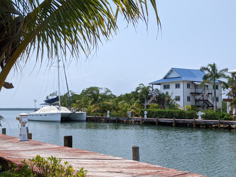 Remax real estate, Belize, Placencia, Marina living at its best.