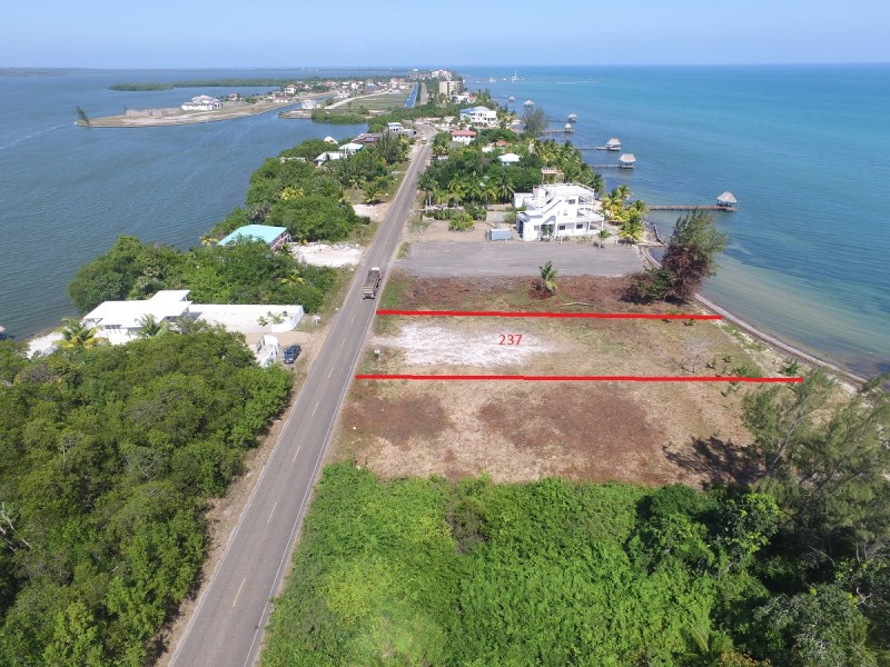 Remax real estate, Belize, Placencia, Beachfront lot