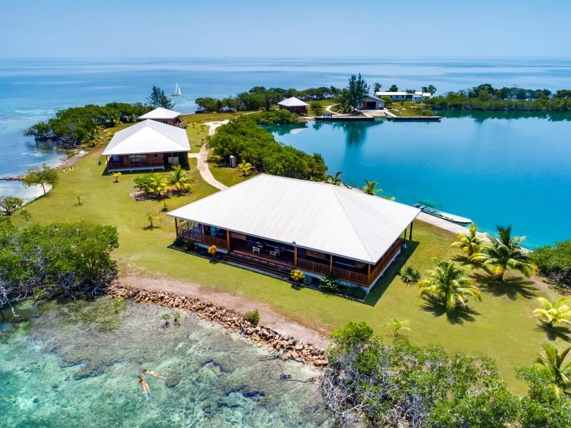RE/MAX real estate, Belize, Placencia, North Saddle Caye - Luxury Private Island