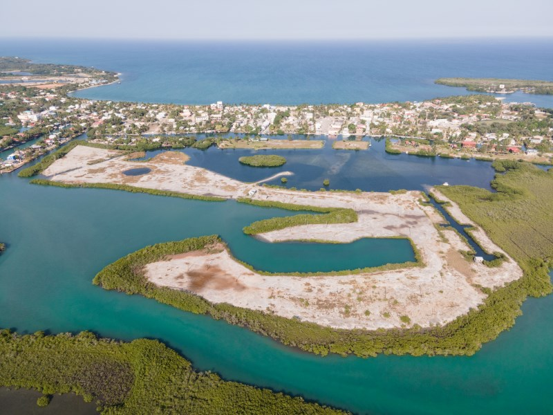 RE/MAX real estate, Belize, Placencia, Affordable Lots in the Inner Placencia Lagoon