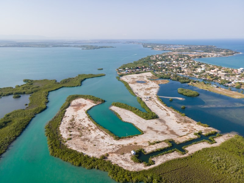RE/MAX real estate, Belize, Placencia, Highly Affordable Lots in the Placencia Inner Lagoon