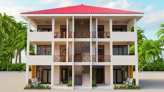 RE/MAX real estate, Belize, Hopkins, 2 Bedroom Condo at Jaguar Reef Residences - Unit Type 2