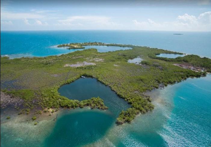 Remax real estate, Belize, Placencia, Amazing Lark Caye-4.992 Acre