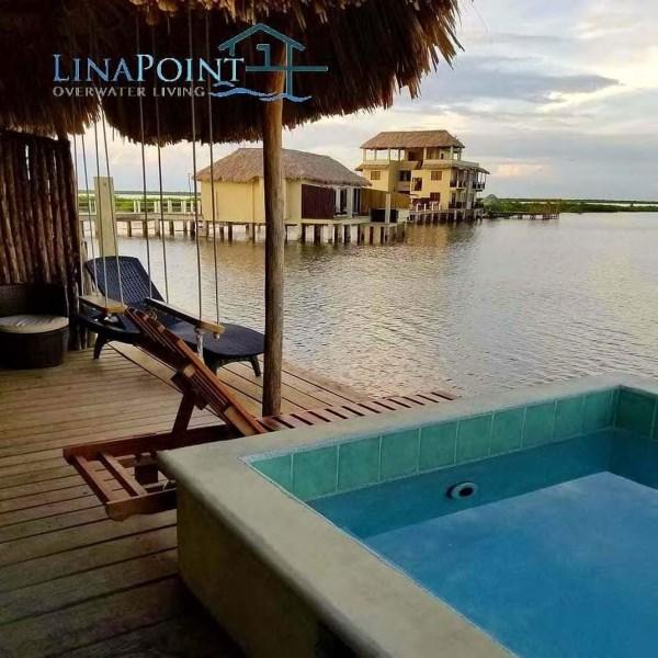 RE/MAX real estate, Belize, San Pedro, Overwater Duplex Cabana