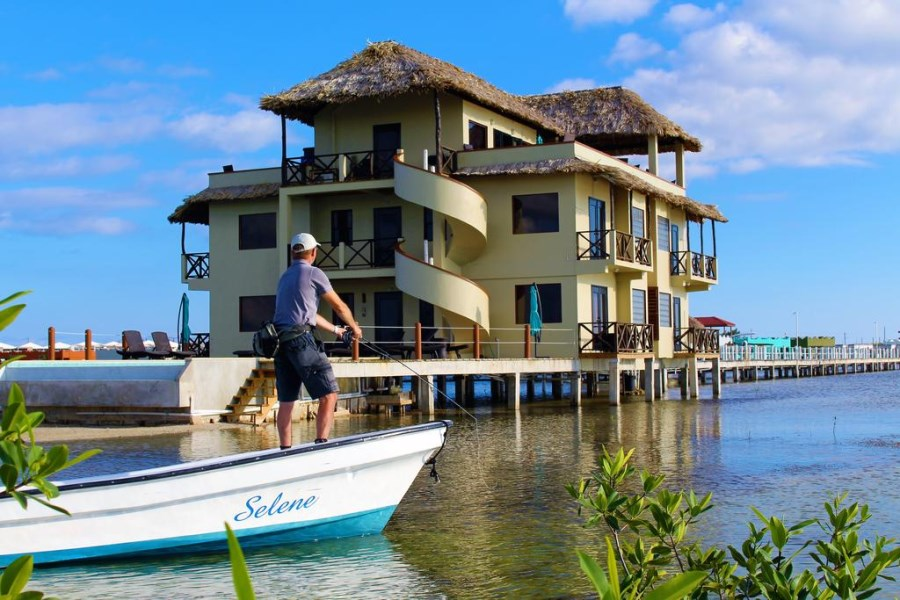 RE/MAX real estate, Belize, San Pedro, Own a Glass Bottom Floor Condo On The Beautiful Piece Of Paradise In Belize.