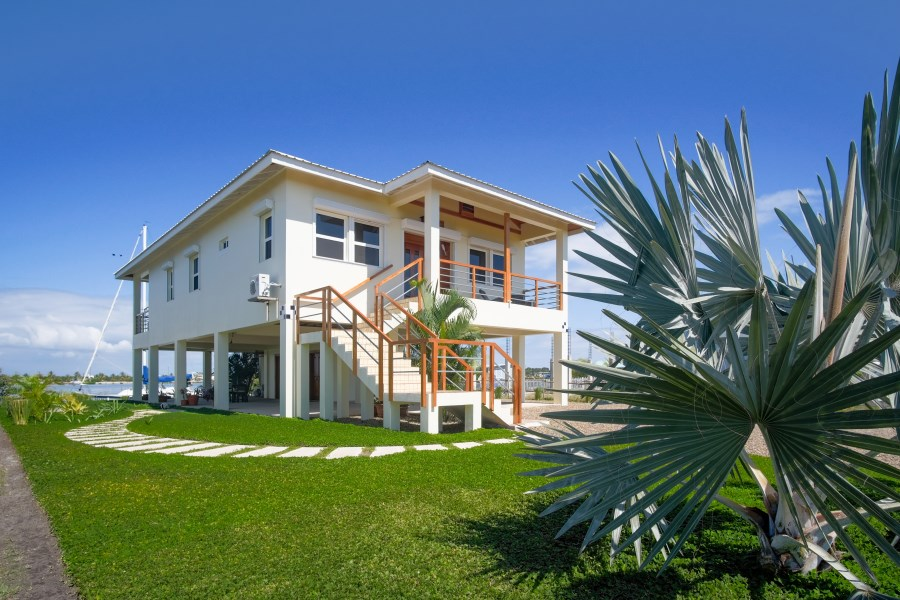 RE/MAX real estate, Belize, Placencia, Waterfront Home with Mayan Mountain Views