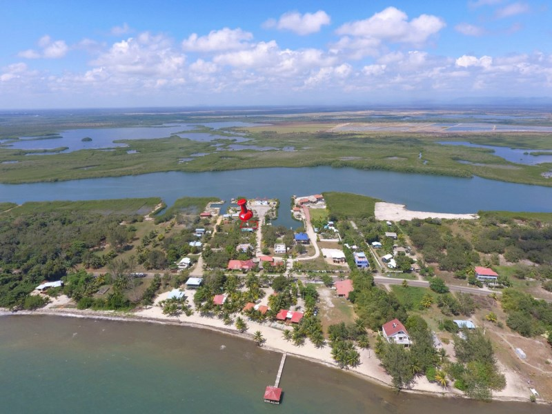 RE/MAX real estate, Belize, Placencia, 7000 sq ft Lot on Marina