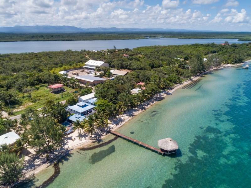 Remax real estate, Belize, Placencia, BELIZE Hotel, Restaurant, Modern 4-plex & 3 unit Beach House