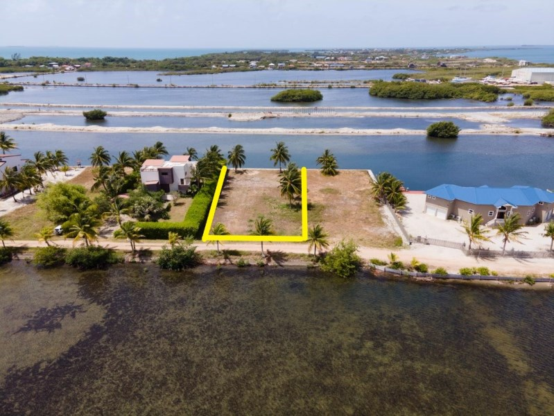 RE/MAX real estate, Belize, Placencia, Large water front, marina Lot