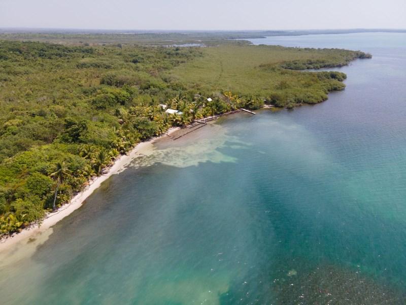 RE/MAX real estate, Belize, Monkey River, 165 feet of Beachfront in Englishtown