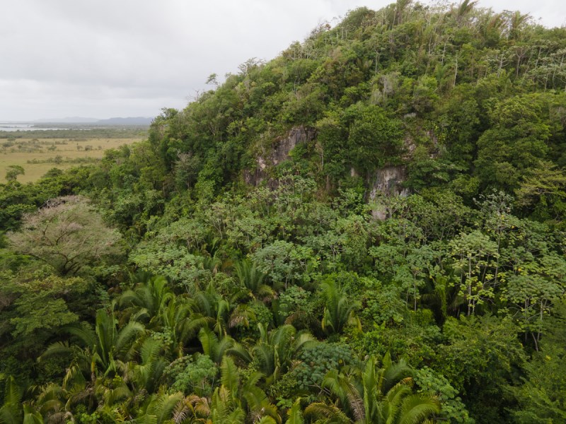 RE/MAX real estate, Belize, Gales Point, 72 acres with Waterfront and a private cave