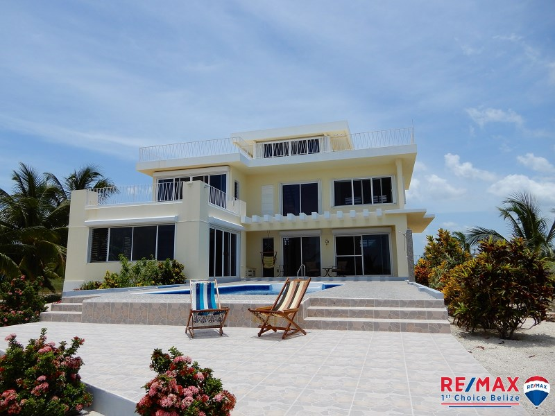 RE/MAX real estate, Belize, Copper Bank, SUEÑO CARIBE - LUXURY WATER FRONT HOME, CERROS PENNINSULA, COROZAL, BELIZE