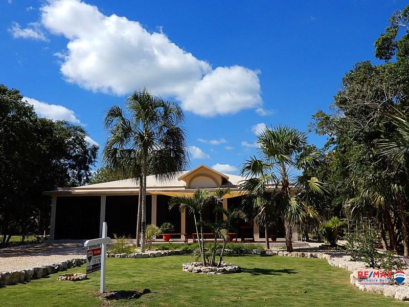 RE/MAX real estate, Belize, Corozal Town, Gorgeous Sea & Lagoon View Home at Mayan Seaside Estate, Corozal District, Belize