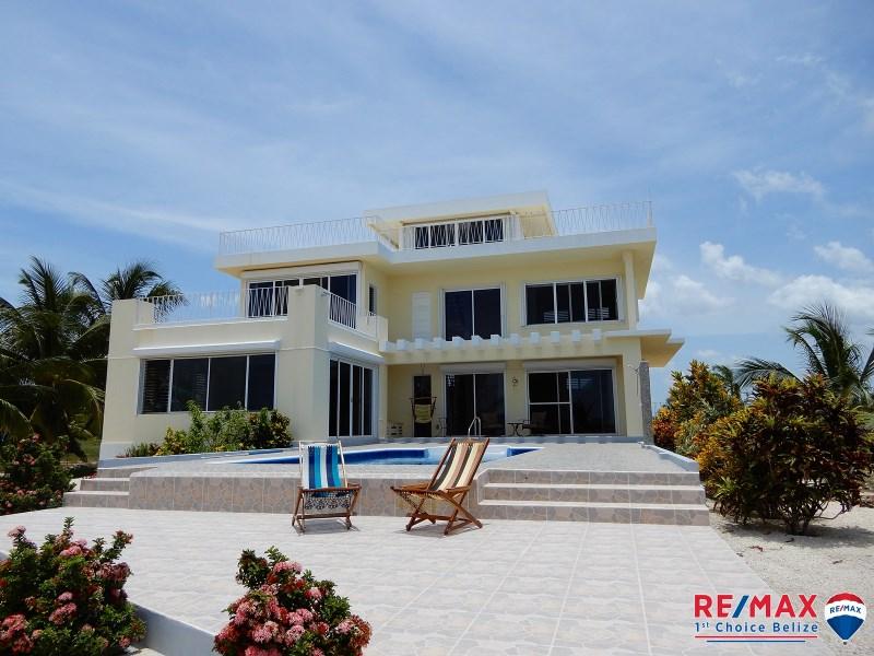 RE/MAX real estate, Belize, Copper Bank, SUEÑO CARIBE - LUXURY WATER FRONT HOME, CERROS PENNINSULA, COROZAL, BELIZE