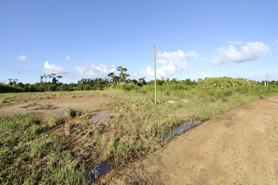 RE/MAX real estate, Belize, Hopkins, Lot 103 Phase 3 River front cleared and filled