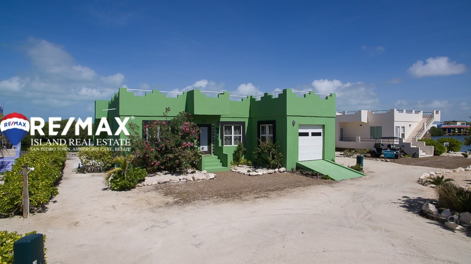 RE/MAX real estate, Belize, San Pedro, Belize Waterfront Home