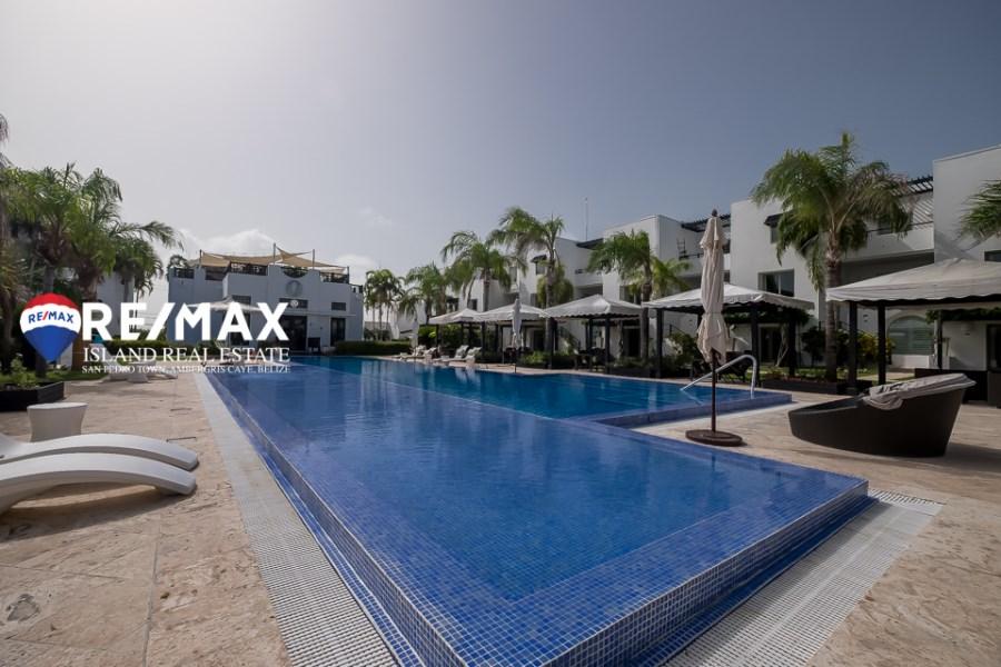 RE/MAX real estate, Belize, Ambergris Caye, Las Terrazas Condo For Sale