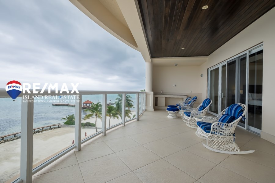 RE/MAX real estate, Belize, Ambergris Caye, Oceanfront Luxury Condo