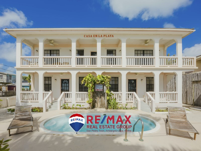 RE/MAX real estate, Belize, San Pedro, Casa En La Playa