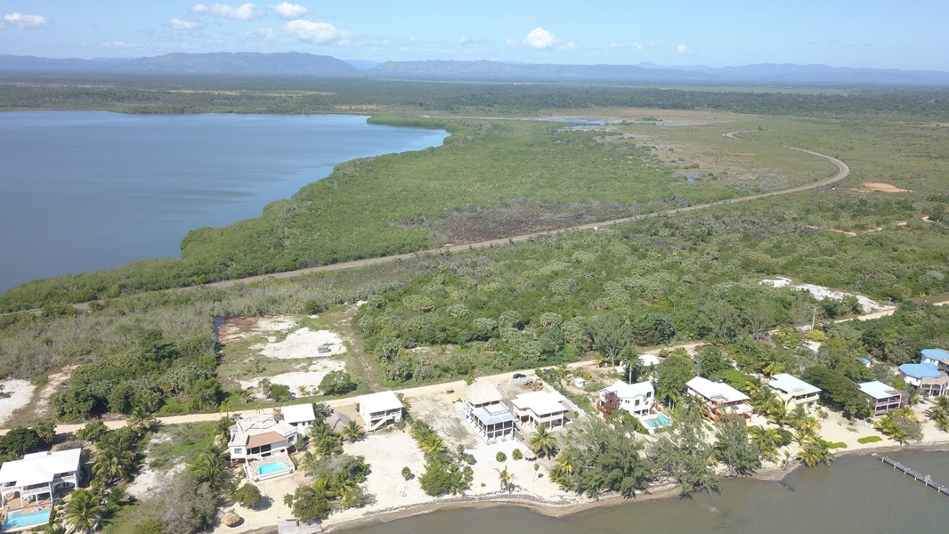 Remax real estate, Belize, Placencia, Large Ocean View Lot on Caribbean Way
