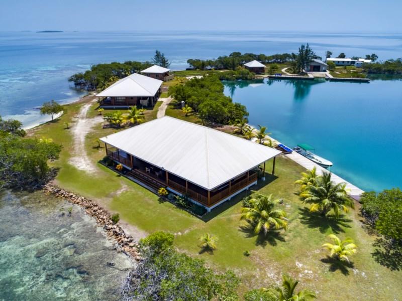 RE/MAX real estate, Belize, Placencia, North Saddle Caye - Luxury Private Island Estate for Sale