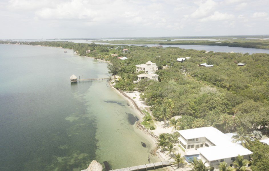 RE/MAX real estate, Belize, Placencia, Stunning Beachfront lot in Surfside, Placencia