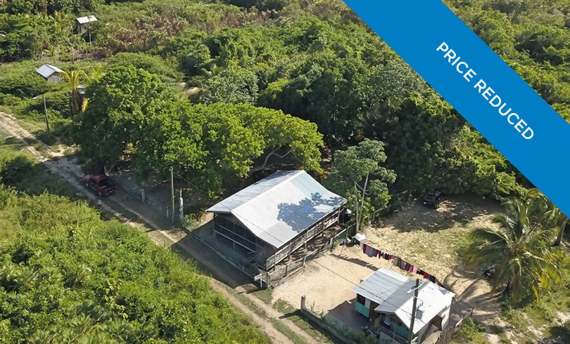 RE/MAX real estate, Belize, Riversdale, 2 Bedroom House on Double Lot in Riversdale — PRICE REDUCED
