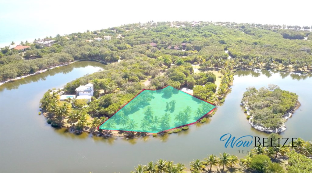 RE/MAX real estate, Belize, Placencia, Premium Waterfront Lot in Cocoplum