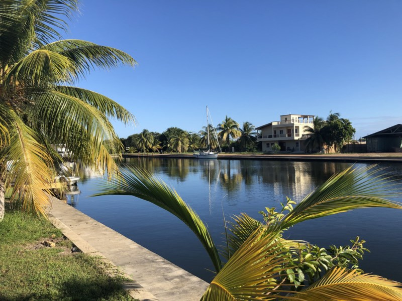 RE/MAX real estate, Belize, Placencia, Waterfront Lot in Upscale Marina Community