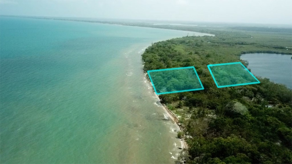 RE/MAX real estate, Belize, Hopkins, Beach/ Lagoonfront Combo just north of Hopkins
